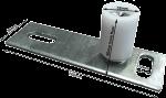 CP-FG1880G - Coldroom Sliding Door Bottom Floor Guide Roller