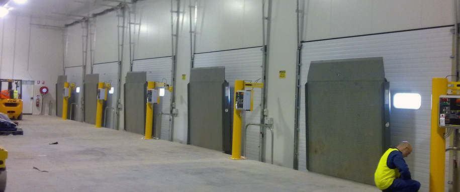 Insulated Loading Dock Doors