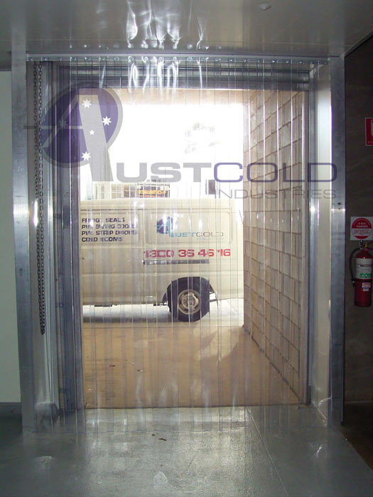 Clear Plastic Strip Door
