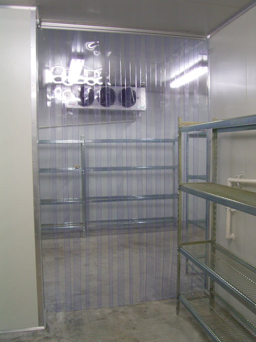 Coldroom Plastic Door Strips