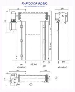 Roll Fast Door RD800